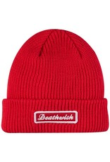 Deathwish Skateboards Rockies Red Cuff Beanie