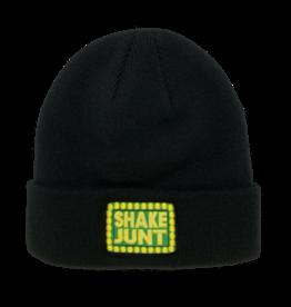 Shake Junt Box Logo Black Cuff Beanie