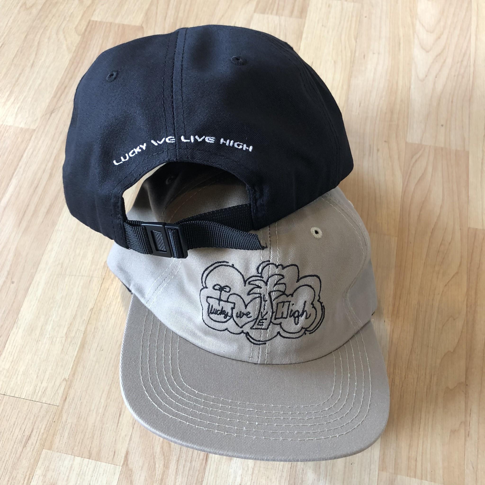 Lucky We Live High LWL Hartsel Khaki Hat