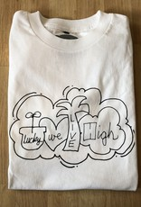 Lucky We Live High LWL Hartsel White Tee