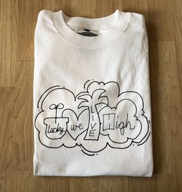 Lucky We Live High LWL Hartsel White Tee