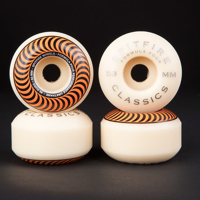 Spitfire Wheels Spitfire F4 99d Classic Orange 53mm