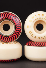 Spitfire Wheels Spitfire F4 101d Classic Red 51mm