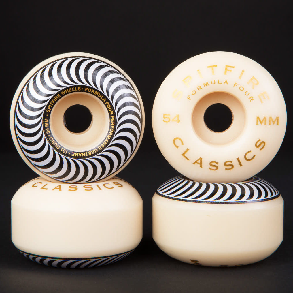 Spitfire Wheels Spitfire F4 101d Classic Silver 54mm