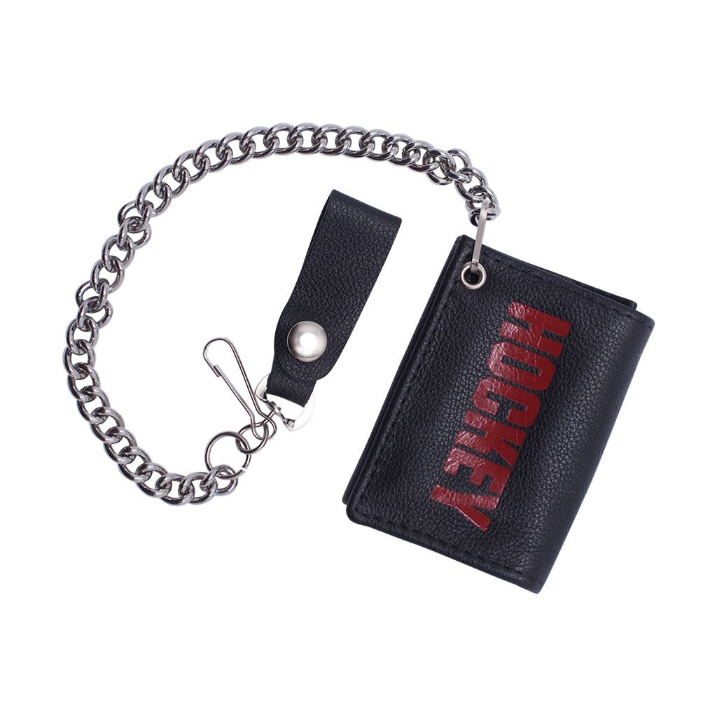 Hockey Hockey Patch Chain Wallet