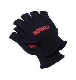 Hockey Hockey Fingerless Gloves Black