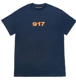 CallMe917 Block Logo Navy