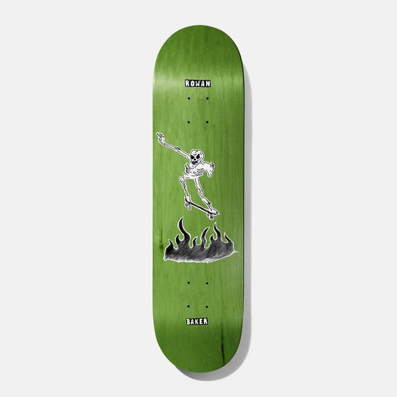 "Baker Skateboards RZ Cremation Mayhem 8.5"""