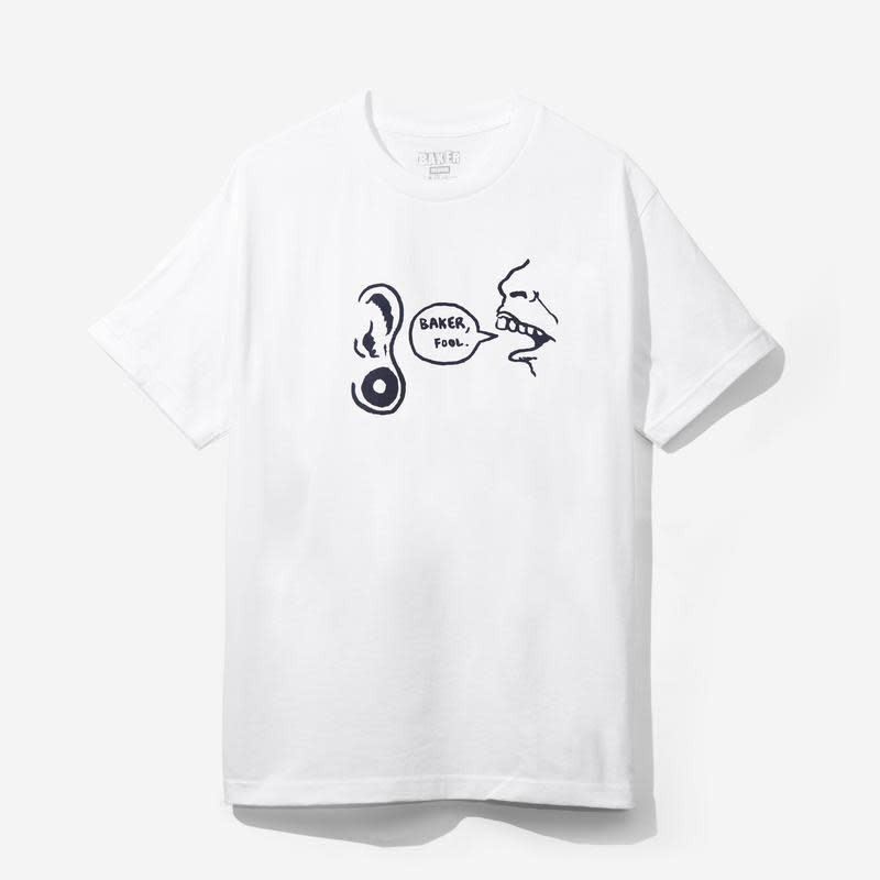Baker Skateboards Baker Fool White Tee