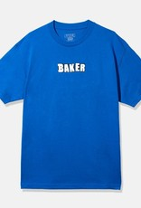 Baker Skateboards Brand Logo Royal Blue Tee