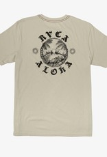 RVCA Sunset S/S Silver Bleach