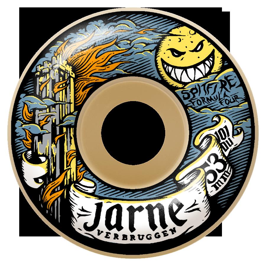 Spitfire Wheels F4 101d Jarne Moonshine Classic 53