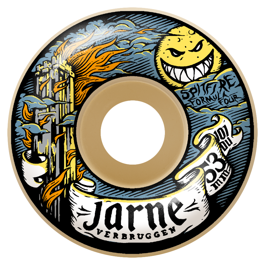 Spitfire Wheels F4 101d Jarne Moonshine Classic 52