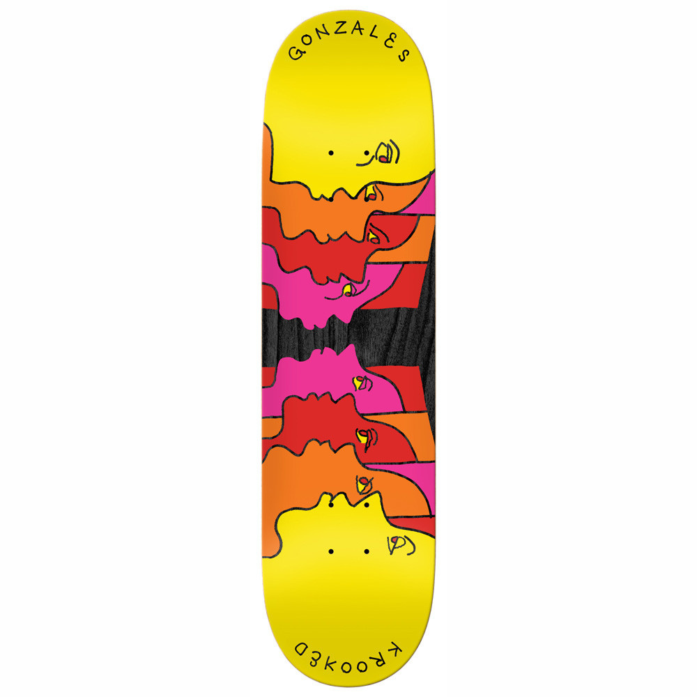 Krooked Gonz Face Off 8.25""
