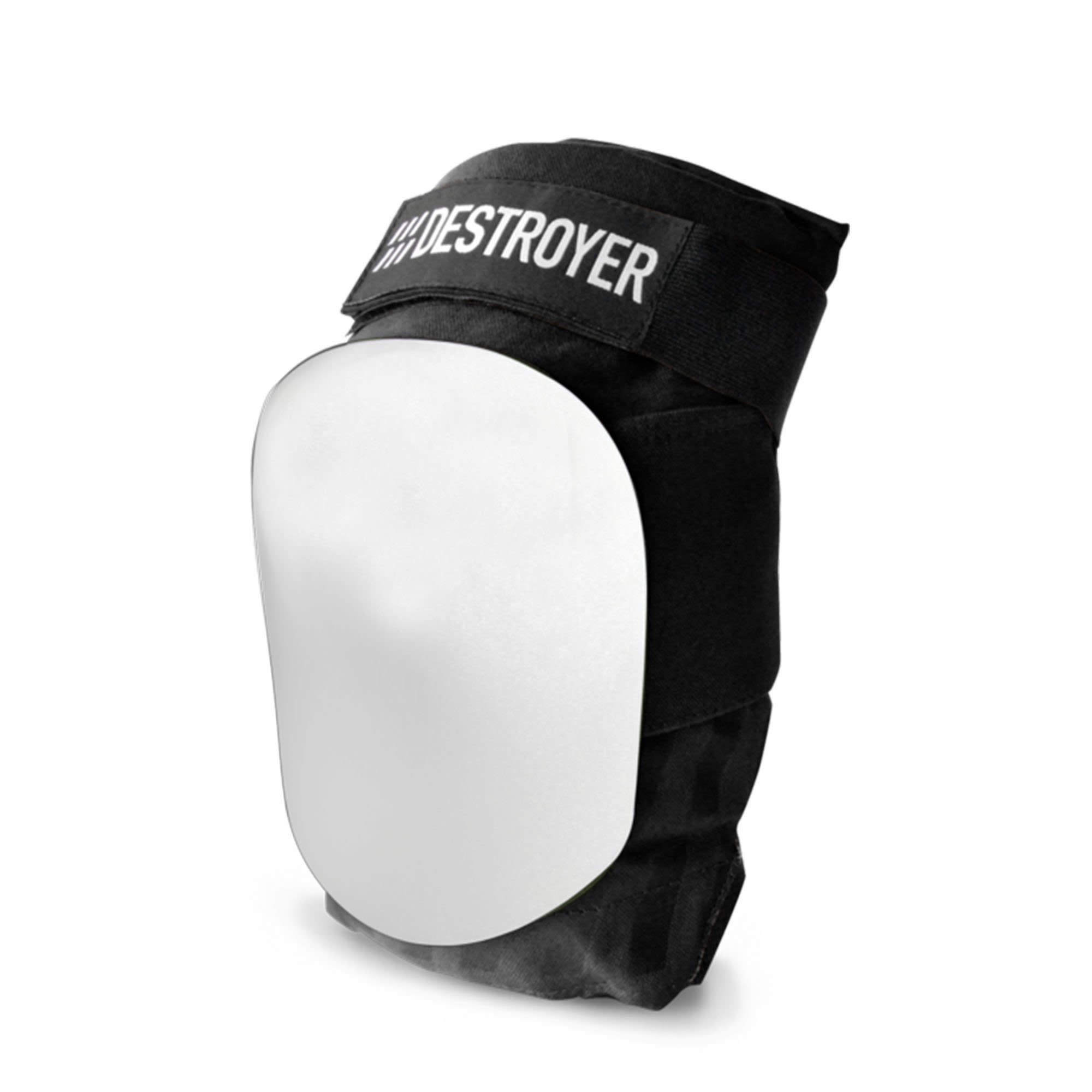 Destroyer A Series Knee Pads Black/White