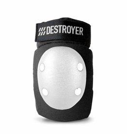 Destroyer Destroyer Elbow Pads Black/White