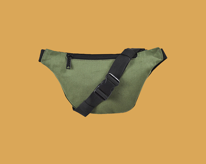 Bum Bag Collin Provost Basic Hip Pack Green