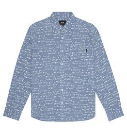 HUF BDR L/S Chambray Shirt
