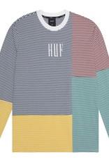 HUF Vilmos Strip L/S Knit White