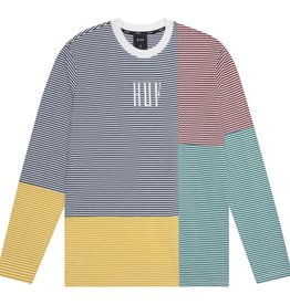 HUF Vilmos Strip L/S Knit White