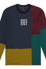 HUF Vilmos Strip L/S Knit Blue
