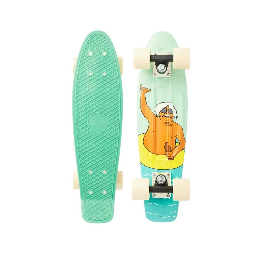 "Penny Skateboards Penny Chuck Shaka Complete 22"""
