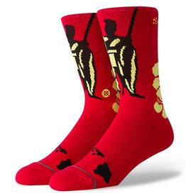 Stance Socks King Red Large