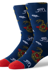 Stance Socks Get Snaked Navy Large