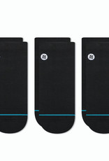 Stance Socks Icon Low 3 Pack Black Large