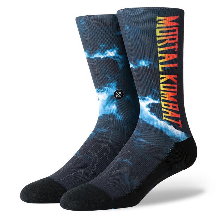 Stance Socks Mortal Kombat 2 Black Large