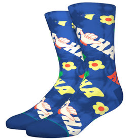Stance Socks Aloha Vibes Blue Large