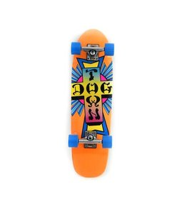 "Dogtown Neon Cross Complete 7.75"" Neon Orange"