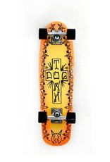 "Dogtown Raton Mini Complete 7.625"" Yellow/Orange"