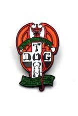 Dogtown Red Dog Designs Enamel Pin