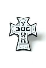 Dogtown Vintage Cross Enamel Pin