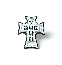 Dogtown Vintage Cross Enamel Pin