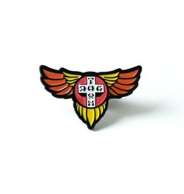Dogtown Wings Enamel Pin