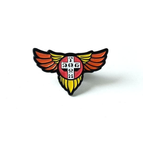 Dogtown Wings Enamel Pin