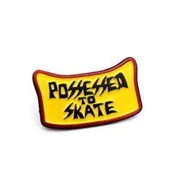 Possessed to Skate Enamel Pin
