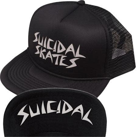 Suicidal Flip Mesh Hat Black