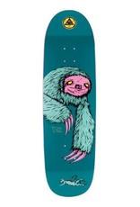 """Welcome Skateboards Sloth on Atheme 8.8"""" Deep Teal"""