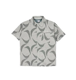 Polar Skate Co. Patterned Shirt Dark Green/Black Large