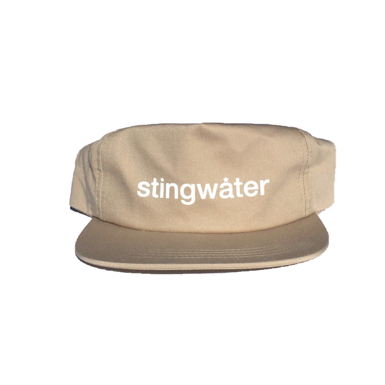 Stingwater Logotype Khaki Snapback
