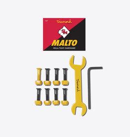 "Diamond Supply Company, Inc Diamond Hella Tight Hardware Malto 7/8"""