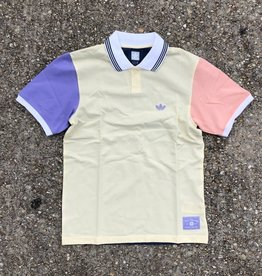 Adidas Nora S/S Polo Mist Sun / Glow Pink / Light Purple / Night Marine