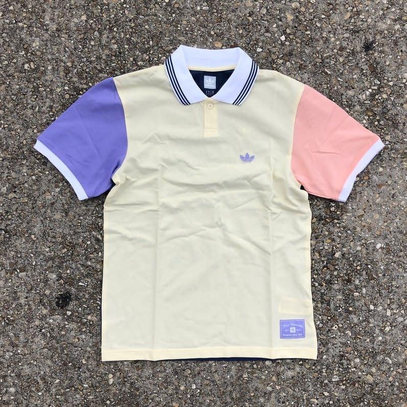 Adidas Nora S/S Polo Mist Sun / Glow Pink / Light Purple / Night Marine
