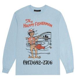 CallMe917 Happy Fisherman L/S Light Blue
