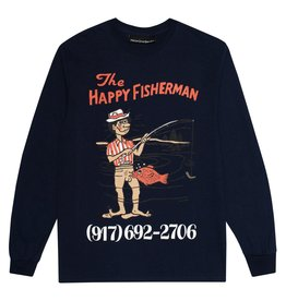 CallMe917 Happy Fisherman L/S Navy