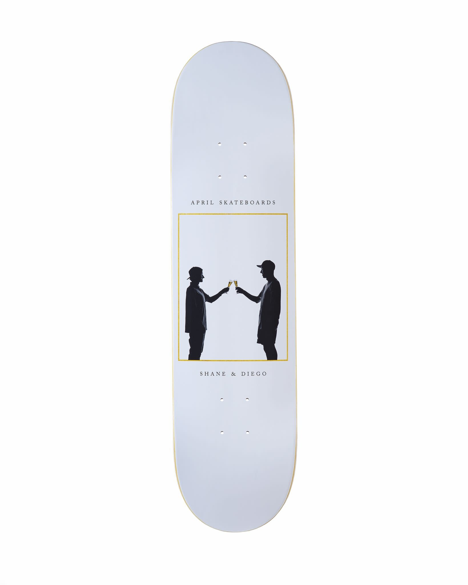 April Skateboards Cheers Diego & Shane 8.0
