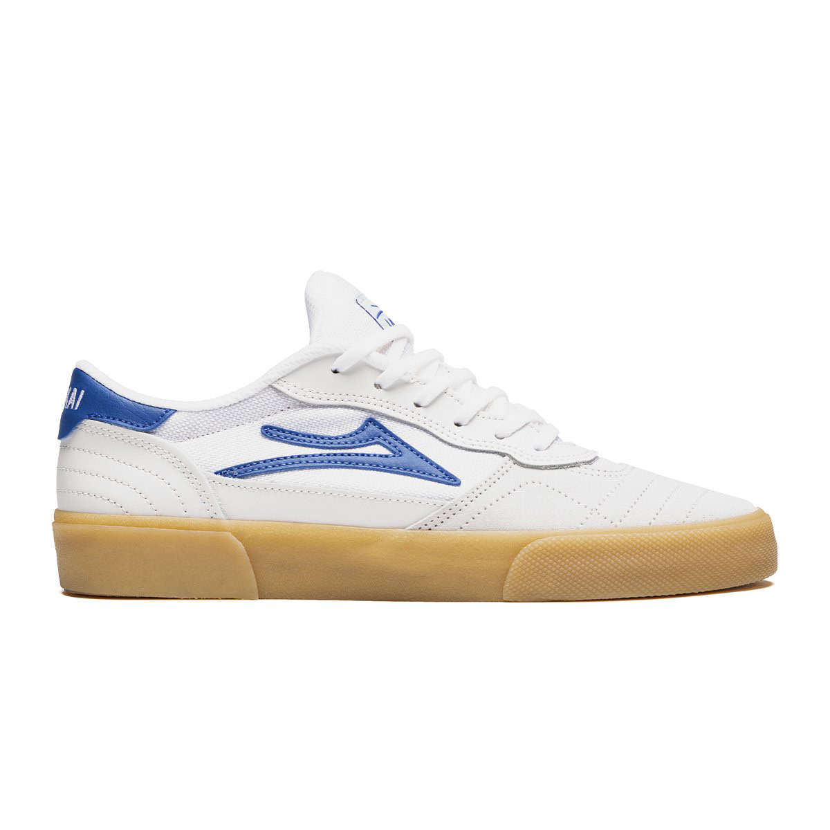 Lakai Cambridge White/Blue Suede